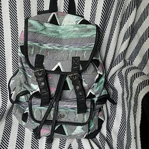 mossimo small fabric backpack